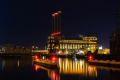 Power Plant Red Lights