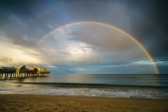 Double Rainbow at Old Orchard Beach