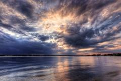 Storm Clouds over Narragansett Bay