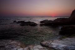 Sunset at Beavertail