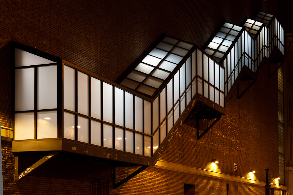 Night Photography Of A Beautifully Illuminated Stairway On The Outside Of  The Providence Performing Arts Center With Easy Stairs Diy.