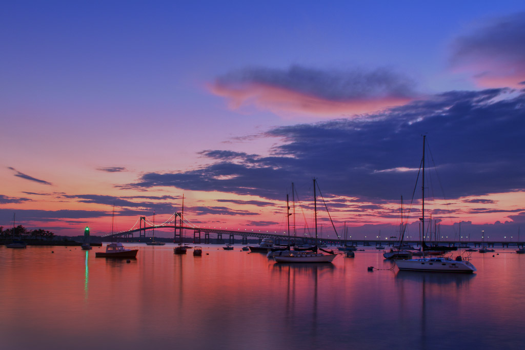 Newport-Harbor-at-Dusk-Mike-Dooley.jpg