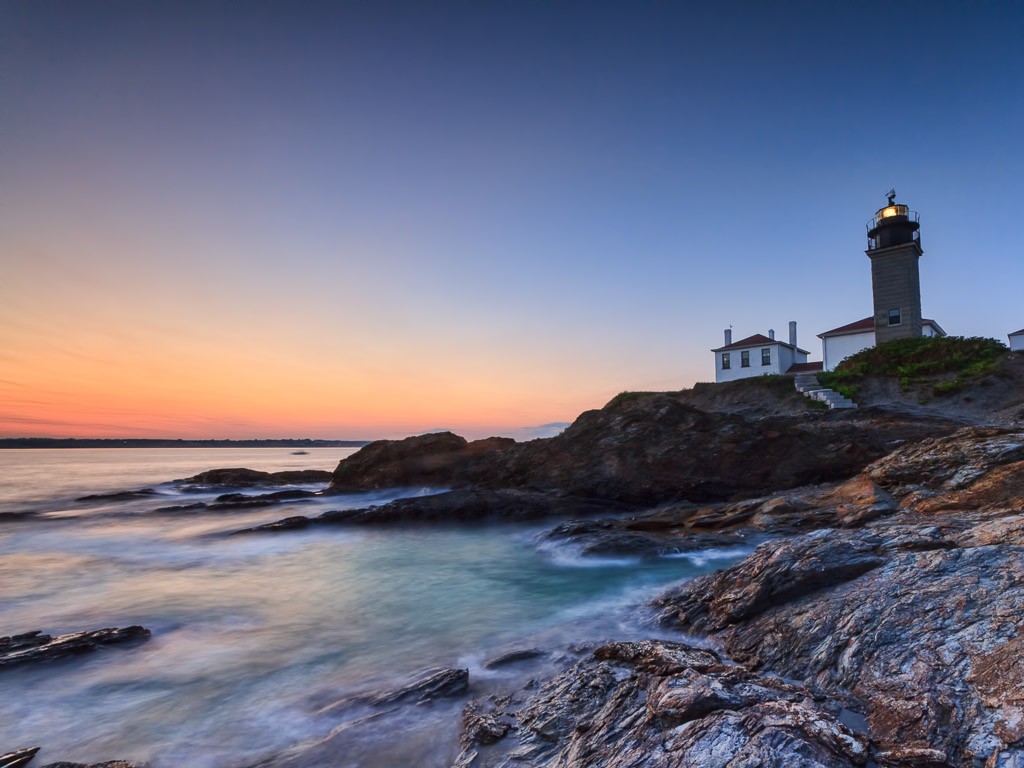 """Photograph entitled """"The Lighthouse"""" by Mike Dooley"""