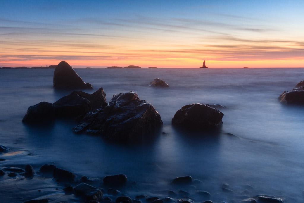 Sunset At Sakonnet Beach